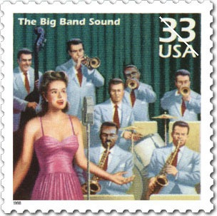 The Big Band Sound stamp